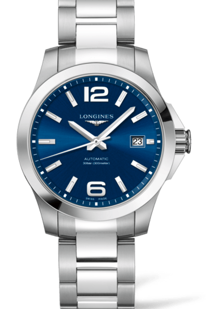 Conquest Blue 39mm L3.776.4.99.6