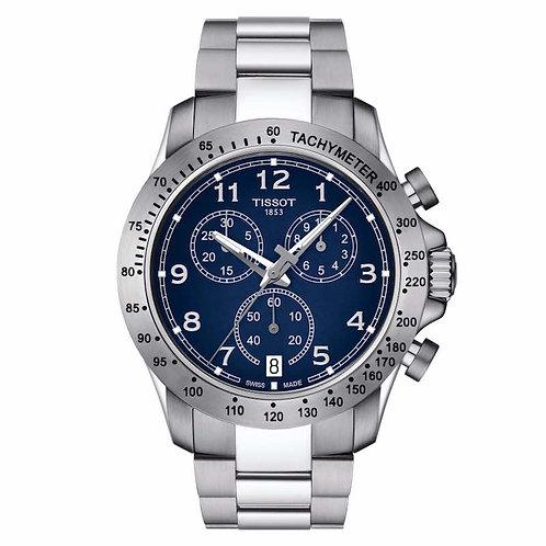 Tissot V8 Quartz Chronograph T106.417.11.042.00 Watch Addict GVA