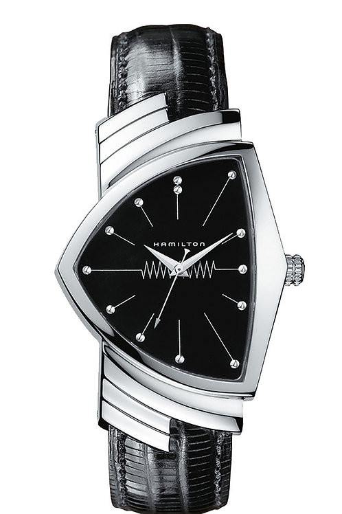 "Hamilton Geneve H24411732 Ventura Quartz ""Men in Black"" H24411732"