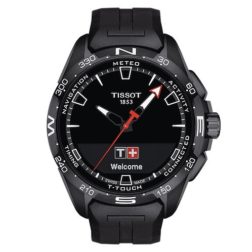 Tissot Geneve Solar Touch Connected Watch Addict GVA T121.420.47.051.03