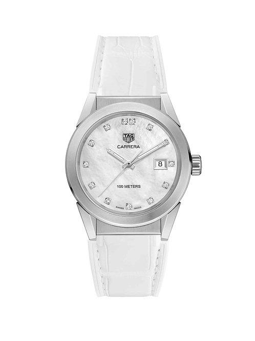 Carrera Lady White Pearl 36mm