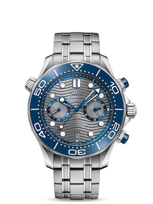 omega geneve seamaster diver 300m chronograph 44mm 21030445106001 watch addict gva