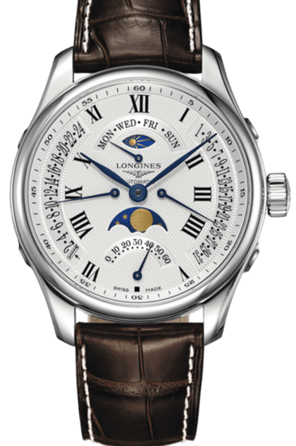 Longines Master Collection Retrograde L2.739.4.71.3 Watch Addict GVA