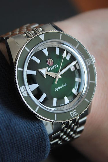 Rado-Captain-Cook-Green-R32505313-Watch-