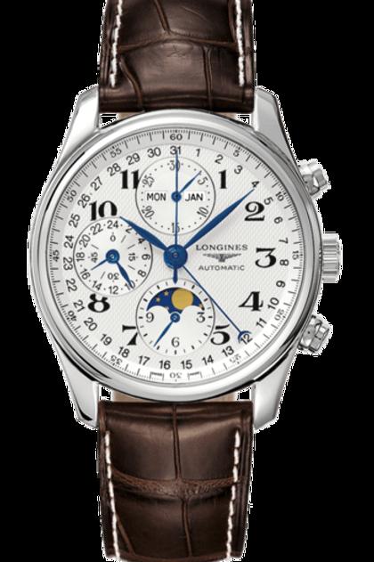 Longines Geneve Master Collection Phase de Lune Watch Addict GVA L2.673.4.78.3