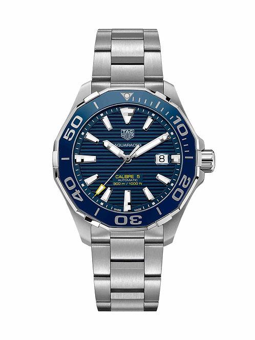 Aquaracer Calibre 5 Blue 43mm WAY201B.BA0927