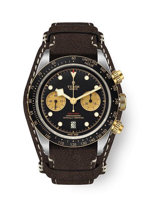 Tudor Geneve Chrono steel gold montre bicolore vintage M79363N-0002