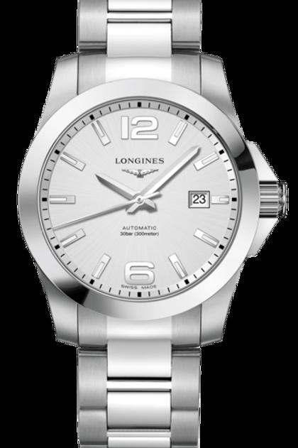Conquest Silver 41mm L3.777.4.76.6