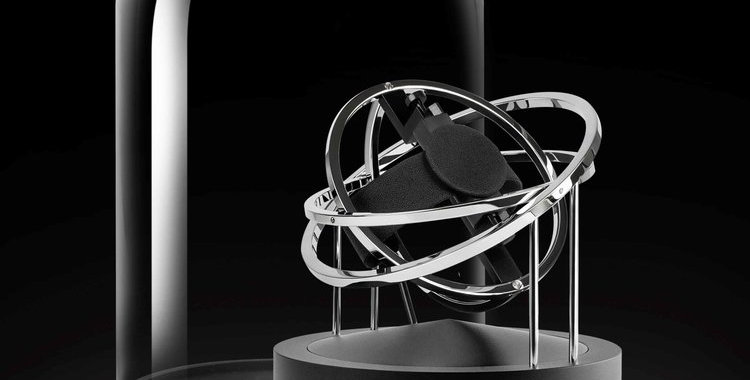 BERNARD FAVRE  Double-Axis Planet Silver Rings
