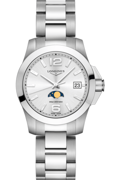 Longines Geneve Conquest Lady Moonphase L3.381.4.76.6