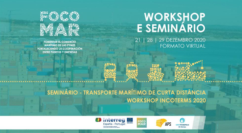 Workshop e Seminário marítimo promovem a competitividade empresarial através do projeto FOCOMAR