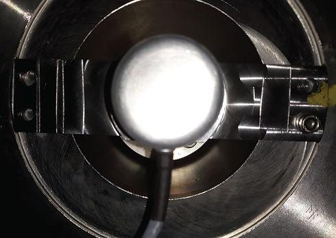 .), novo encoder ótico com fixação nova adaptada às dimensões diferentes do anterior