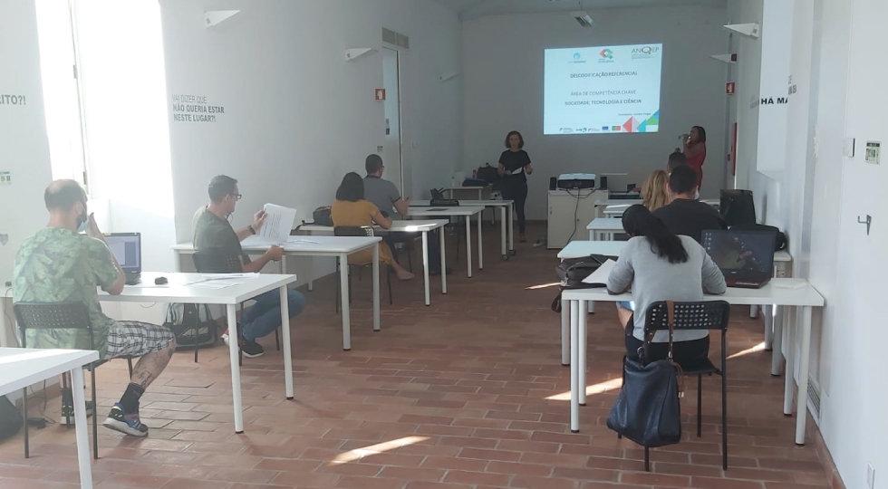 Sessões de Descodificação do Referencial de Competências do Centro Qualifica do Sines Tecnopolo retomam atividade presencial
