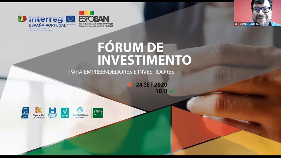 Fórum de Investimento ESPOBAN realiza-se em formato digital