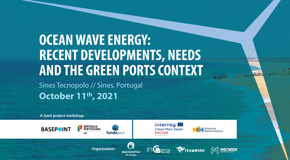 Sines Tecnopolo promove workshop sobre energia das ondas
