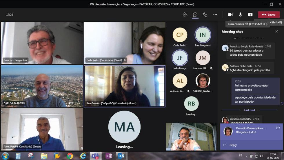 Reunião de trabalho aproxima Portugal e Brasil