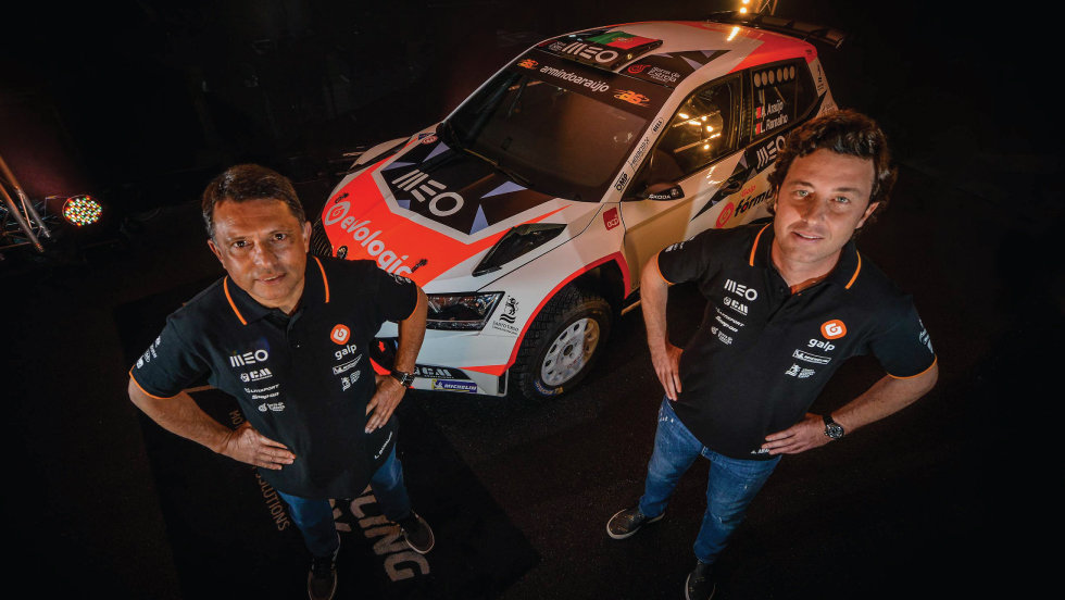Galp renova patrocínio ao piloto de ralis Armindo Araújo