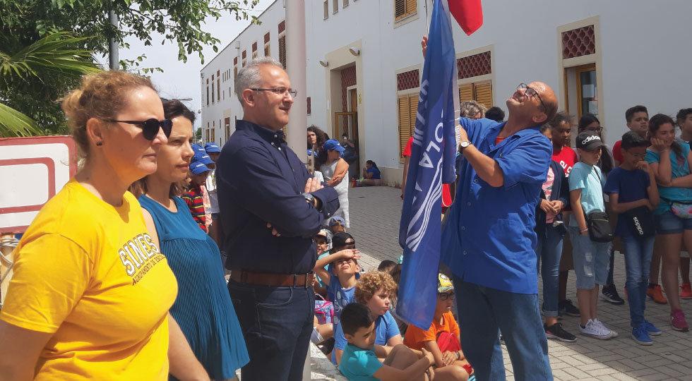 Agrupamento de Escolas de Sines distinguido pelo Projeto Escola Azul