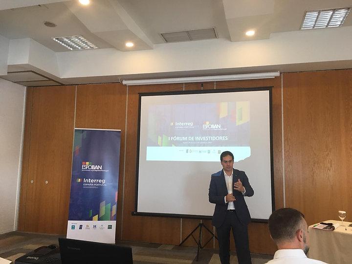 Fórum de investimento do projeto ESPOBAN em Faro