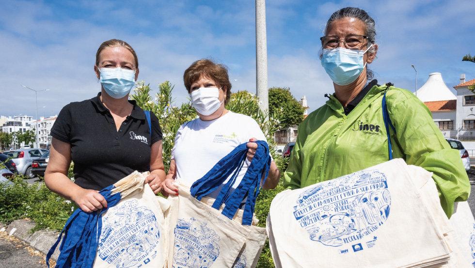 Ação de sensibilização ambiental na comunidade de Sines a 3 de julho 'Dia Internacional Sem Sacos de Plástico'
