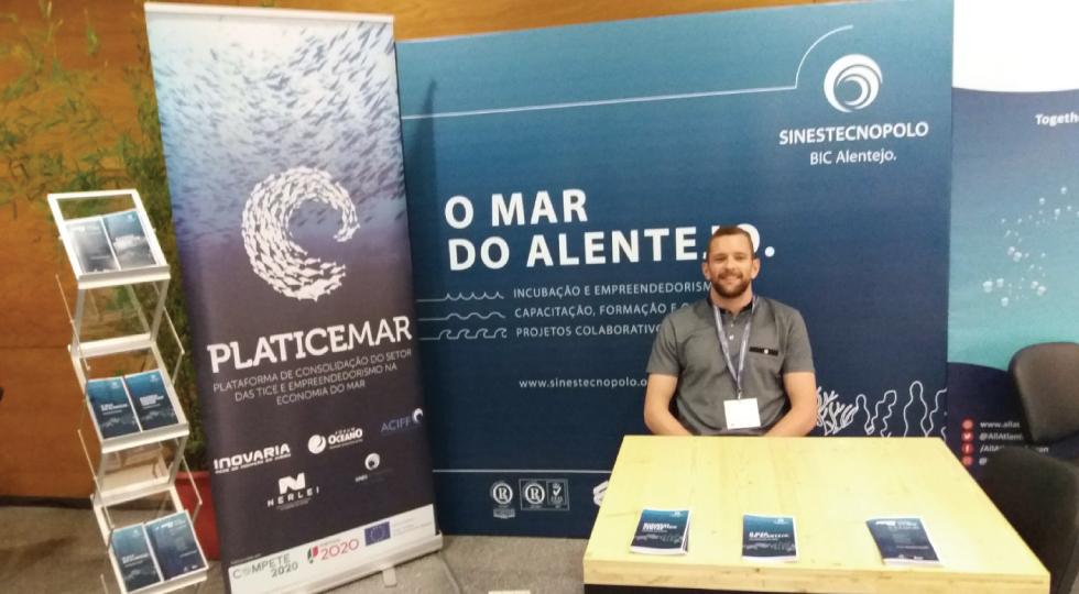 O Sines Tecnopolo esteve presente no European Maritime Day com o projeto Platicemar