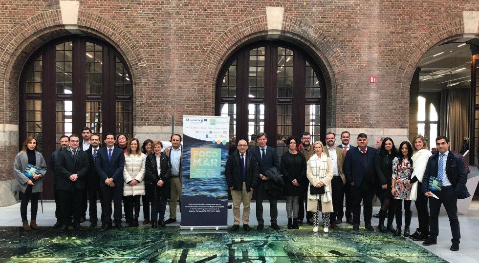 Missão de visita ao espaço portuário do Porto de Antuérpia