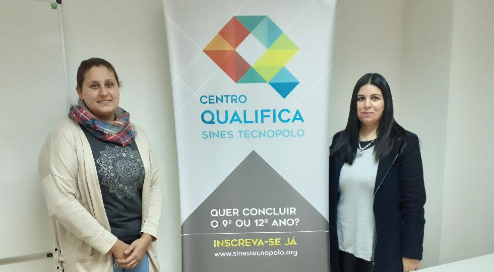 O Centro Qualifica do Sines Tecnopolo certificou mais 5 candidatas
