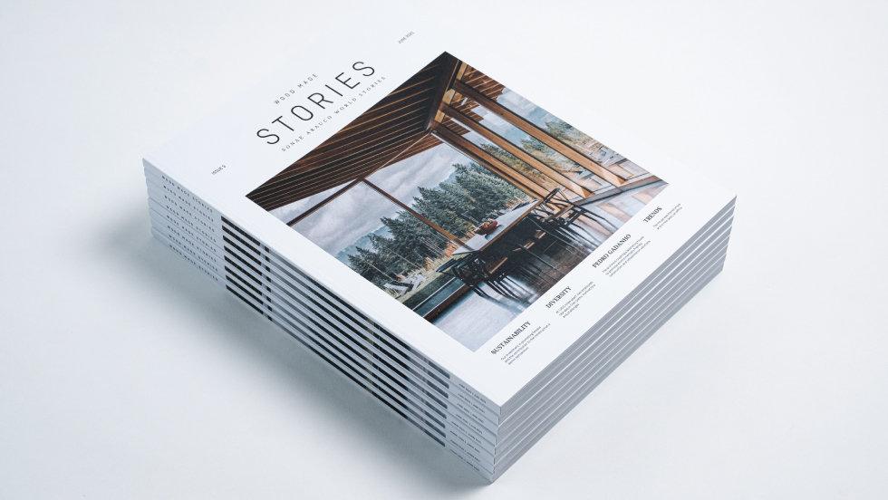 """""""Reinvenção"""" é o tema da terceira edição da revista da Sonae Arauco"""