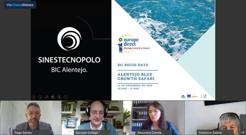 Sines Tecnopolo marca presença no DG Regio Days