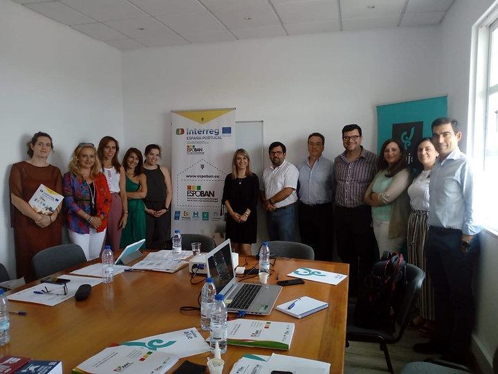 Sines Tecnopolo integra reunião de trabalho do projeto ESPOBAN