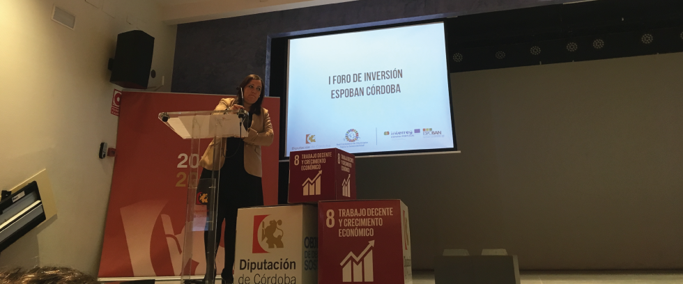 1º Fórum de investimento do projeto ESPOBAN em Córdoba