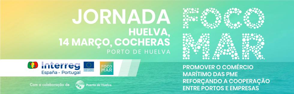 Marque na Agenda Jornadas FOCOMAR, 14 março, Huelva
