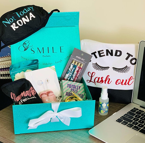 Back to the Books Box - College Care Package