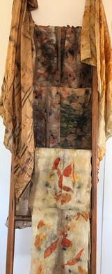 Samantha Tannous eco dyed scarves