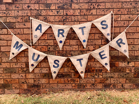 Festive Bunting Has It All - especially a celebration of craft