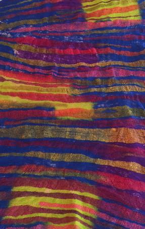 Samantha Tannous stripes wrap