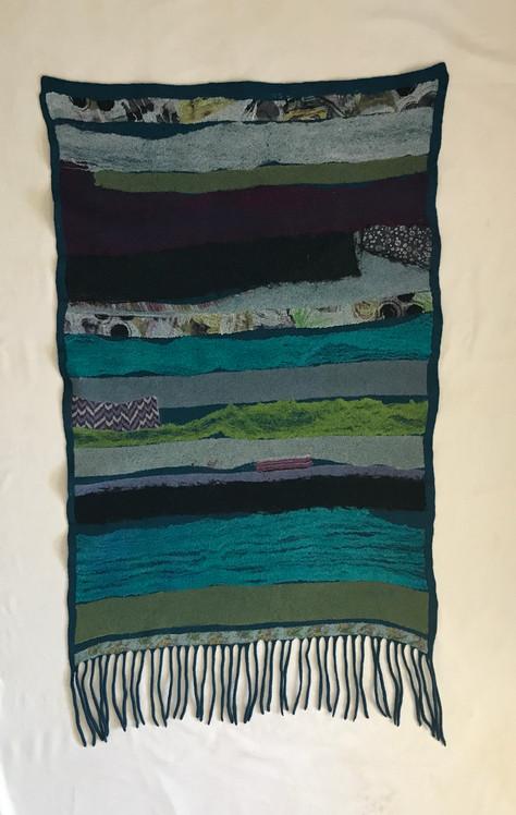 Samantha Tannous nuno felted blanket