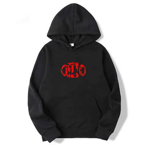 Ohio State Cow Hoodie