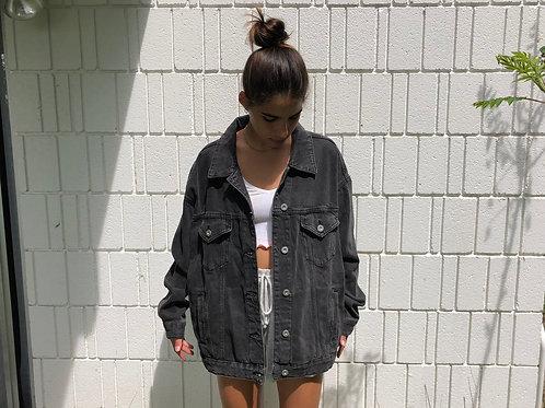 Artist Inspired Bleach Painted Jacket