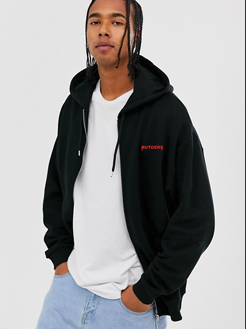 Rutgers Embroidered Zip Up