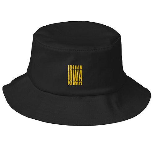 interrupted bucket hat -iowa