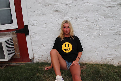 Oversized Iowa Smile Tee