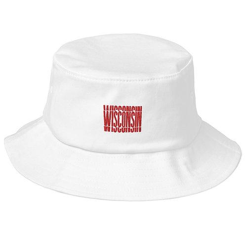 interrupted bucket hat -wisconsin