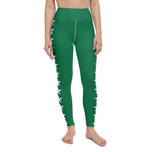 Green Star Leggings