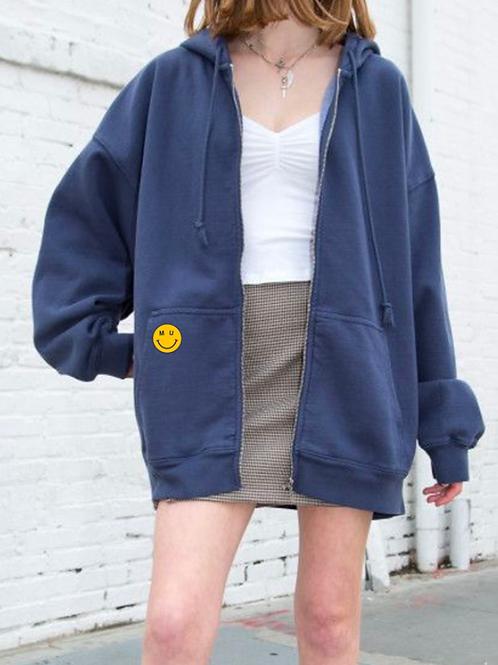 MU Embroidered Zip Up