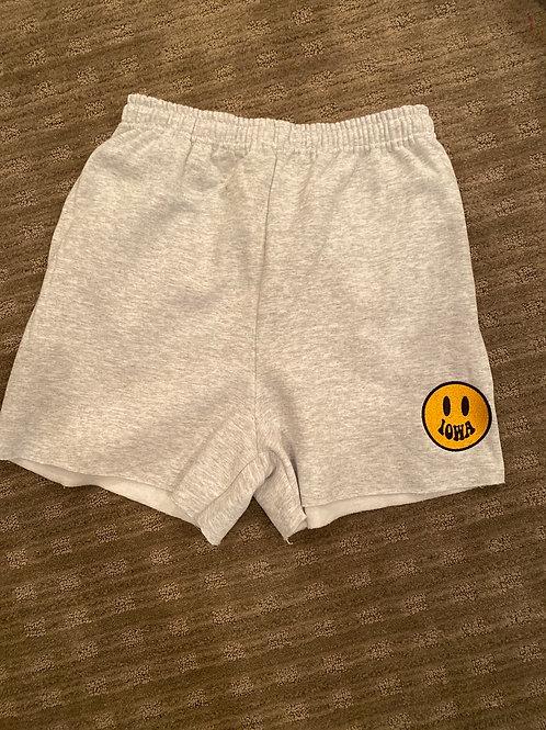Iowa Smile Sweat Shorts