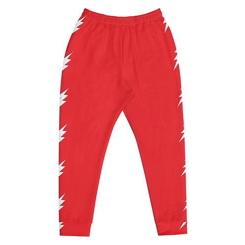 Red Bolt Joggers