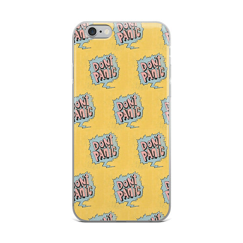 Dont Panic iPhone Case