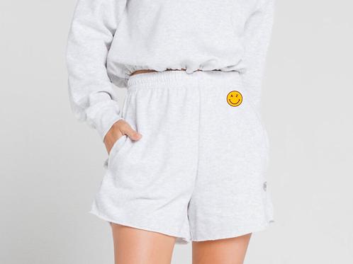 AZ Smiley Sweat Shorts