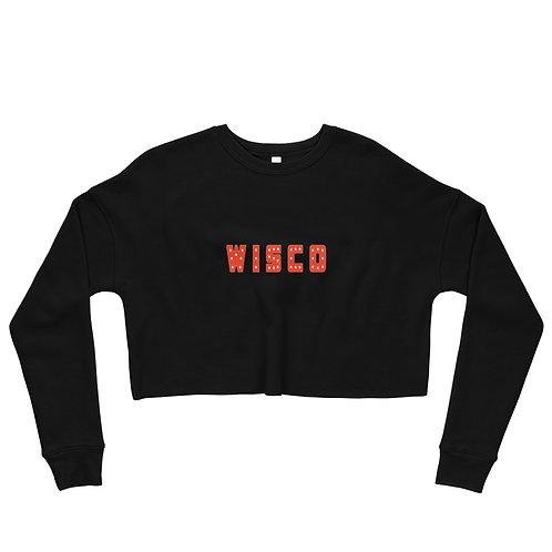 wisco star Crop Sweatshirt